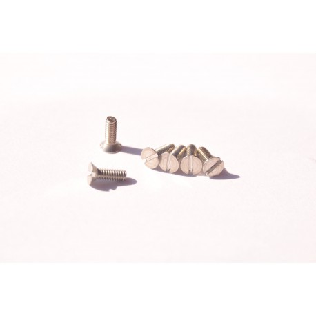 Countersunk head screws stainless ⌀2mm