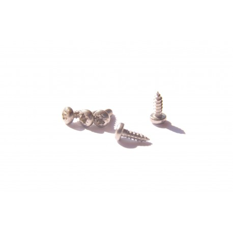 cylindrical stainless sheet metal screws ⌀2,2m