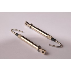 Turnbuckle leisure chromed brass, 2.5mm